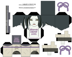Orochimaru body woman P1 by matheusinhaia