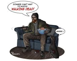 Walking Dead by ted1air