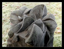Morning Frost - One Of The Sculptures In Krakow 1 by skarzynscy