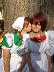 Kiss... APH COSPLAY by mory-chan