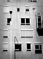 Cascading Windows BW by Anonymous-Caribou