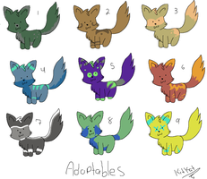 Fox adoptables 2 .:OPEN:. by SparkleDesuShelter