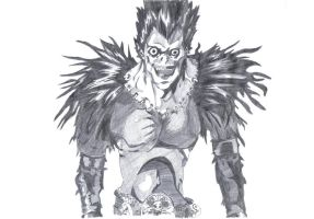 Death note-Ryuk by razaec