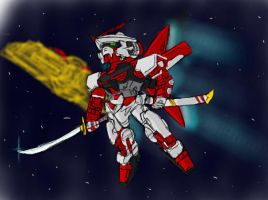 Paintchat - SD Red Frame by GuyverC