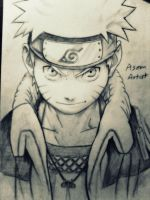 Naruto sketch by frost1993