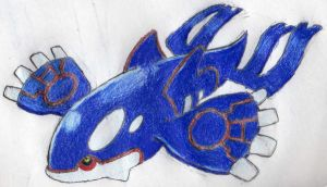 Kyogre by Miralupa