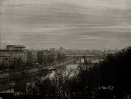 Moscow cityscape retro ed. V by firework