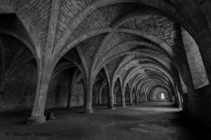 Fountains Abbey 4 by StevenJames1982