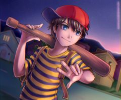 Ness by Eeveetachi