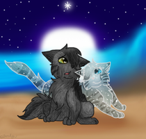 SilverstreamXGraystripe by DucklettsRcute