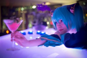 Hastune Miku - Project Diva 2 by Zombiebearz