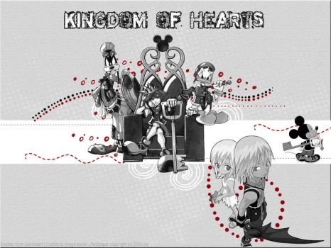 Kingdom of Hearts by oborosama