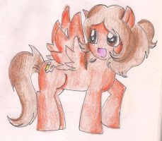 Me as a Pegasus Pony by CaramelCreampuff