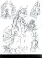 More Arn Sketches by CyberHorse10