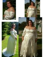 Wedding dress update by Naralim