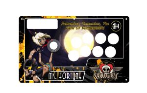 Ms. Fortune Fightstick by Bonsaw
