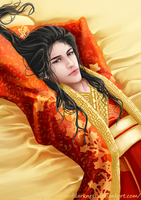 The Lazy Emperor by wingzofdarkness