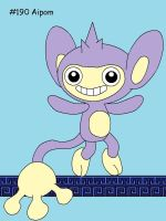 Aipom by Catherinex13