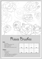 FREE - Roses Brush by MissDidichan