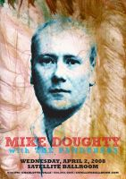 Mike Doughty Poster by goodmorningvoice