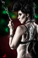 Girl With the Dragon Tattoo by Toni-Darling
