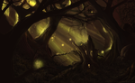 The Light of the Forest by Resusan