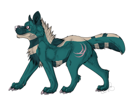 Big Wolf Adopt - Adopted by Feralx1