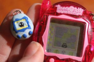 Miniature Tamagotchi 2 by Autumn--Storm