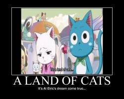 FMA Motivator:Land of Cats by babyunicornart