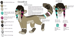 DeadEnd Character Chart 2012 by Kainaa