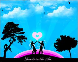 Love is in the Air by Crynon