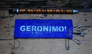 Geronimo doctor who punk patch by sleepyhamsteri
