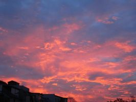 Fire in the sky (on vacation #3) by UrsusVanDraco