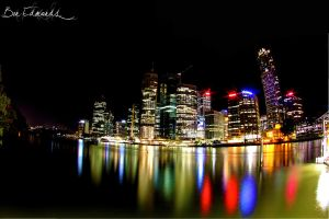 Brisbane City by benedmonds
