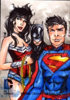 DC NEW 52 Trinitysketchcard by wheels9696