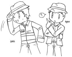 Fedora hats? - lineart request by dongpeiyen1000