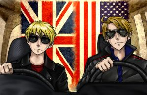 Livin' Life in the Fast Lane (Hetalia) by HeroicPlights