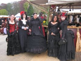 Victorian Ladies at EFF 2011 by LadyRafira