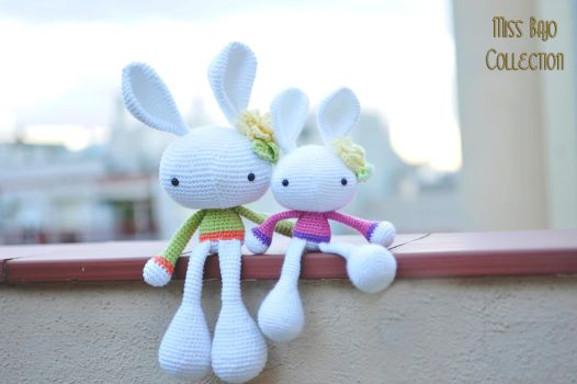 Lovely Bunny's by MissBajoCollection