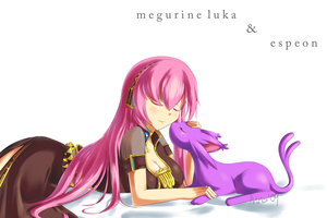 AT: Luka and Espeon