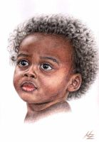 African Child by ArtsandDogs