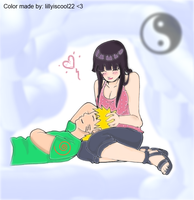 Naruhina color RELAX by lillyiscool22