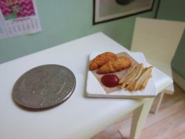 Mini Fast Food : Quarter by LittleSweetDreams