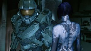 Master Chief and Cortana by Goyo-Noble-141
