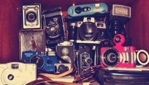my camera collection :P by MaithaNeyadi