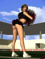Cheerleader Gwen Pin Up 3 by ImfamousE