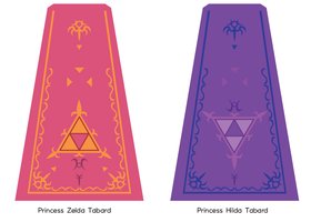 Zelda and Hilda's Tabard by GothLoliChanKaru