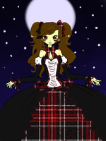 princess under the moonlight by Otakucouture