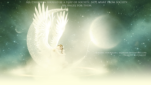 An Angel for them ~ IV Tribute to Unicef by RazielMB