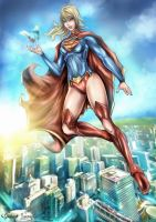 New 52 Supergirl - Chaos Theory by Glluengo